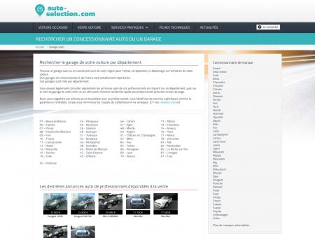 Liste de garage automobile et de concessions...