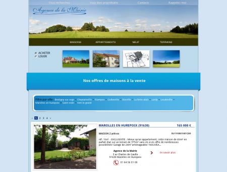 Annonces - Les Agences de la Mairie Marolles...