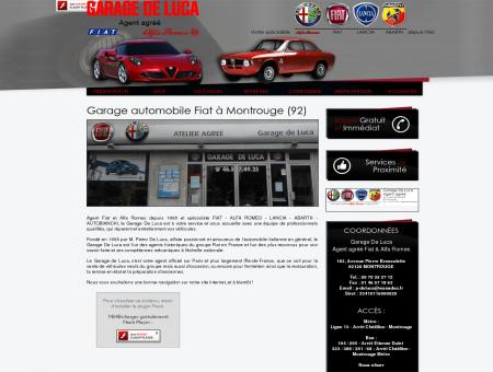 Agent FIAT et Alfa Romeo  Paris 75 | Garage...