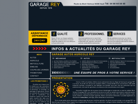Garage auto agricole Rey Sault, au pied du...