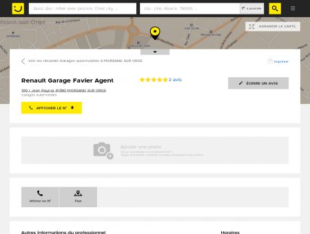 Renault Garage Favier Morsang sur Orge...