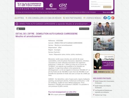 DEMOLITION AUTO-GARAGE-CARROSSERIE à...