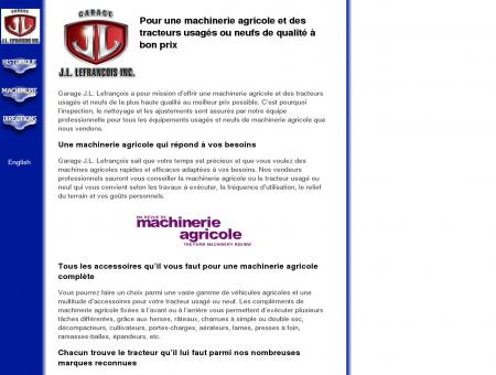 Machinerie agricole et tracteurs usagés -...