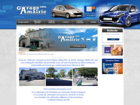 Garage Amalric: Vehicules occasion | Location...