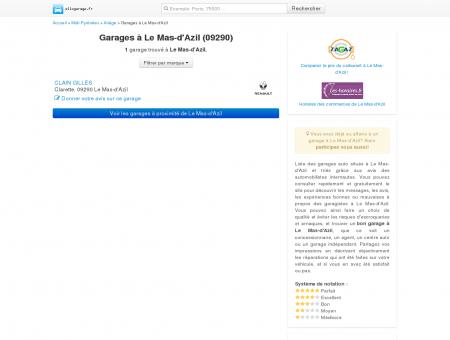 Garage Le Mas-d'Azil - Comparatif des...