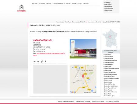 Garage, concessionnaire LA FERTE ST AUBIN -...