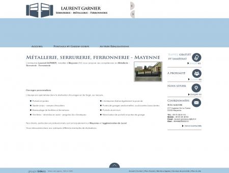 Métallerie Mayenne - EURL GARNIER : verrière...