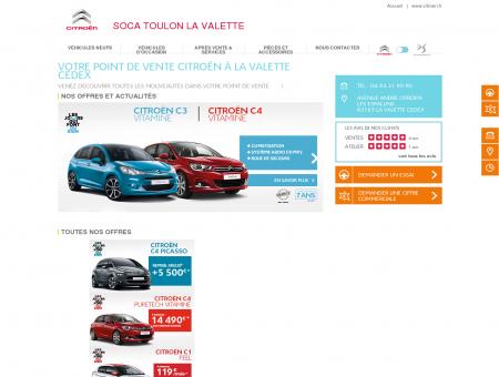 SOCA TOULON LA VALETTE : garage et...