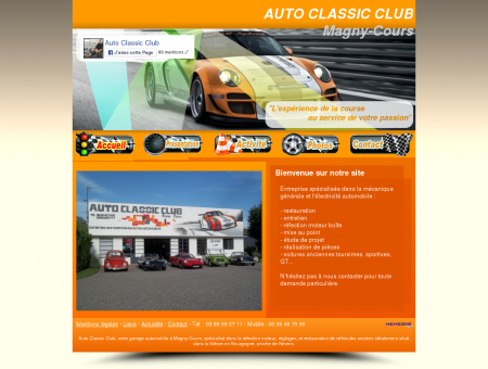 Auto Classic Club garage Magny-Cours,...