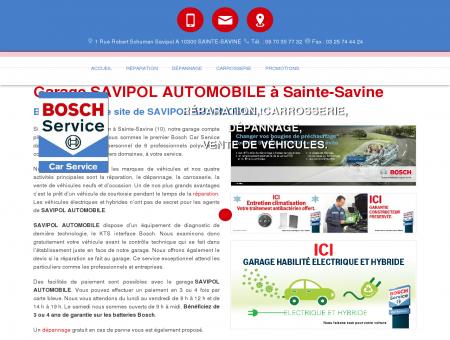 Garage SAVIPOL AUTOMOBILE à Sainte-Savine
