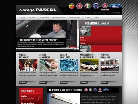 Garage PASCAL, concessionnaire FIAT, ALPHA...