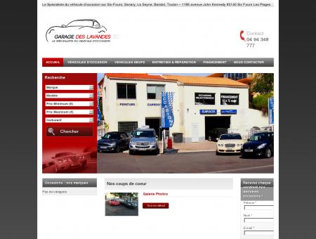 Garage des Lavandes : vente auto, vente...