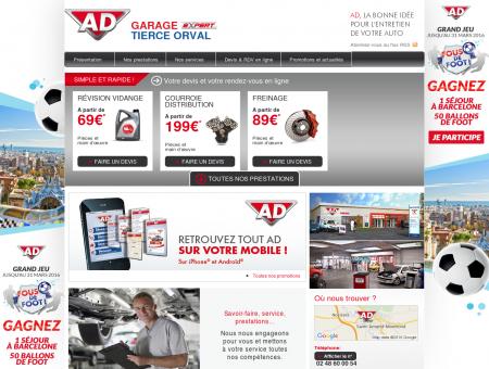 Garage TIERCE ORVAL - Accueil - AD Auto ...