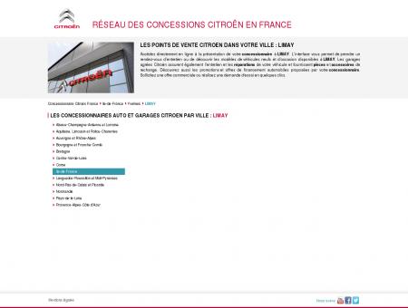 Concessionnaires auto & garages LIMAY ...