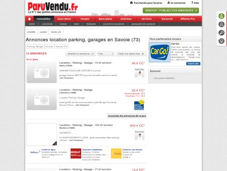 Location parking, garage Savoie (73) :...