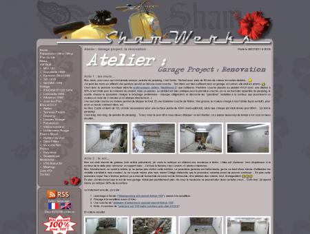 ShamWerks : Atelier - Atelier : Garage project,...