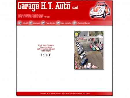 Garage HT AUTO, vente de véhicules...