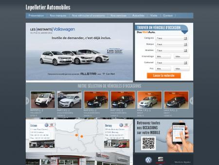 Garage Lepelletier Volkswagen & Seat à Bernay...