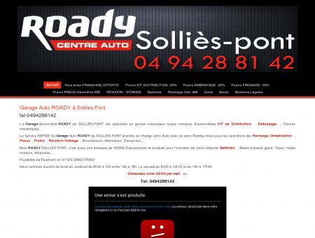 Garage Auto ROADY à Solles-Pont