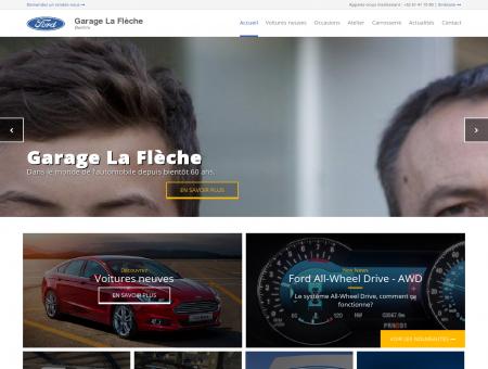 Concessionnaire garage Ford Bertrix La Flèche -...