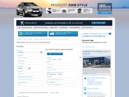 GARAGE AUTOMOBILE DE LA FLECHE, Trouver...