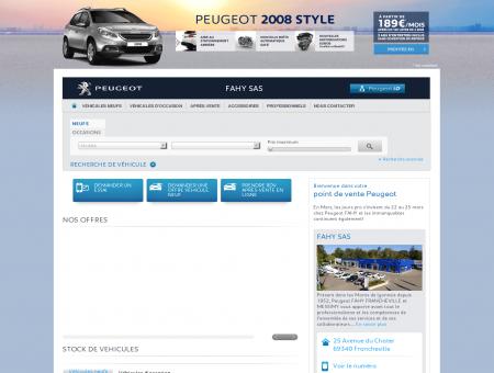 STOCK DE VEHICULES - Garage Peugeot,...
