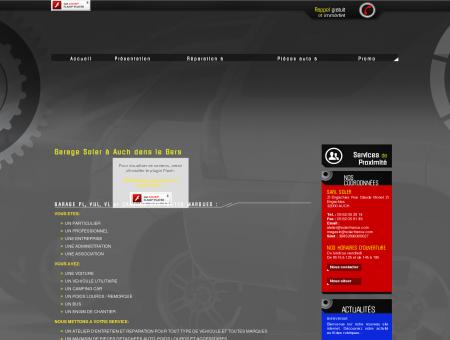 Nos activités / Garage poids lourds 32 / SARL...
