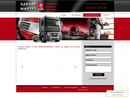 Vente de véhicules - Garage Martel à Grigny (69)