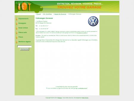 Volkswagen Gonesse - Coordonnées et...