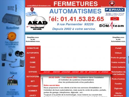 Akad Domateam: AUTOMATISME DE PORTAIL...