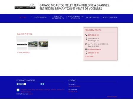 Garage MC Autos Melly Jean-Philippe à...