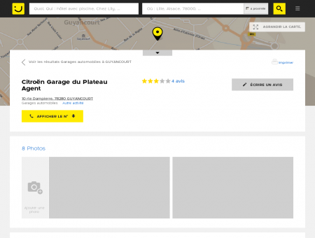 Citroen Garage du Plateau Guyancourt...