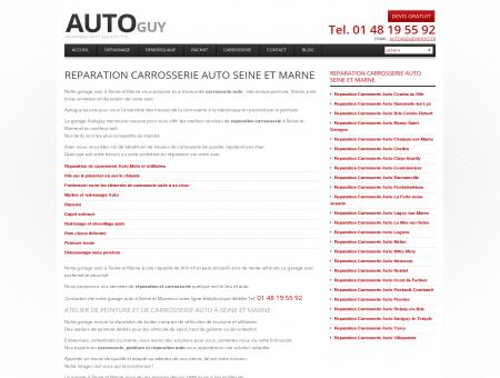 Garage carrosserie Voiture à Seine et Marne |...