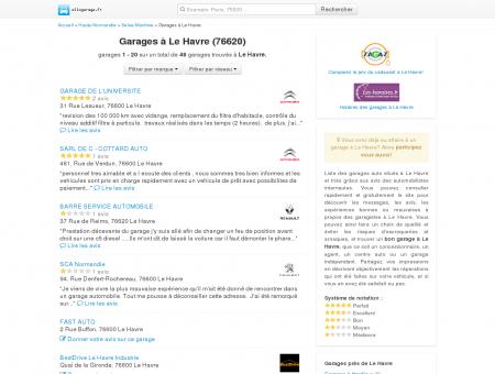 Garage Le Havre - Comparatif des garages à Le...