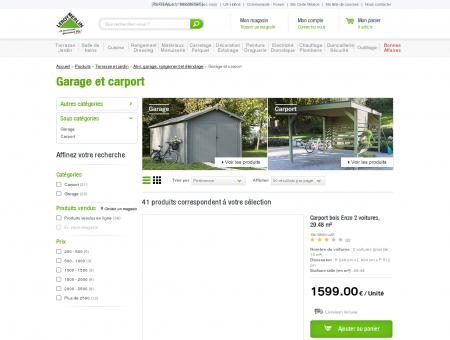 Garage et carport - Abri, garage, rangement et...
