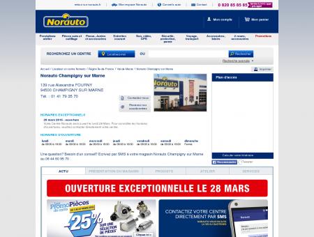 Norauto Champigny sur Marne - Garage...