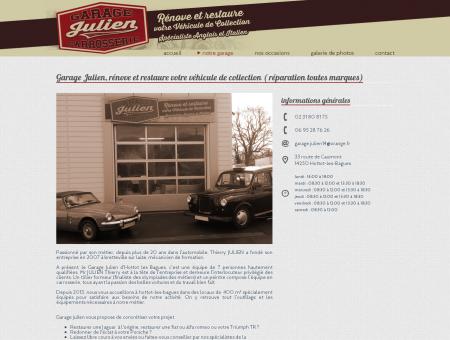 Notre garage à Hottot-les-bagues, entre Caen,...