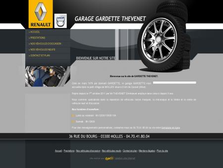 Garage automobile à Molles : GARDETTE...