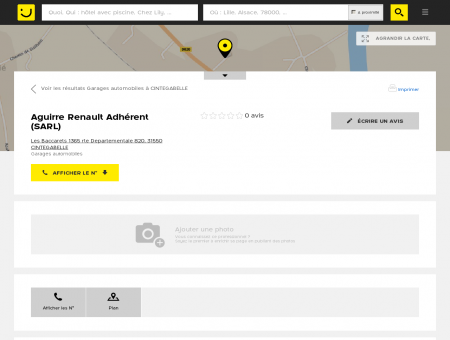 Aguirre Renault Adhérent Cintegabelle...