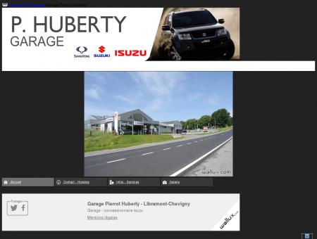 Garage Pierrot Huberty || wallux.com -...