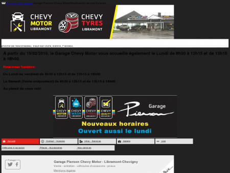 Garage Pierson Chevy Motor || wallux.com -...