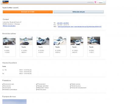 Garage Toyota Certified - Lorent E.: à...