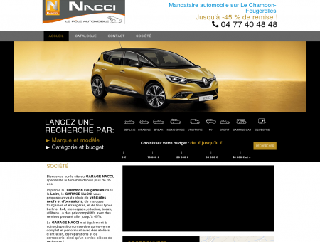GARAGE NACCI - Garage automobile vente de...