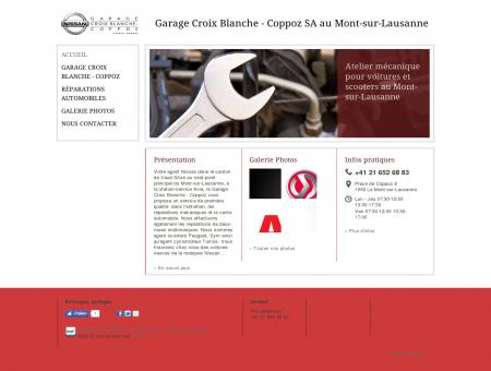 Comparateur de services de garage d pannage de croix for Garage la croix blanche