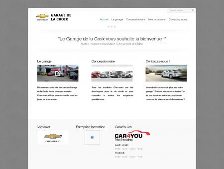 Garage de la Croix, Garage Carrosserie à Orbe ...