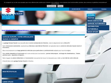 Accueil - Garage Europe Suzuki - Garagiste à...