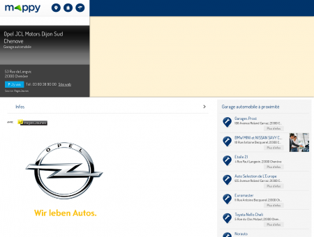 Opel JCL Motors Dijon Sud Chenove - Garage...