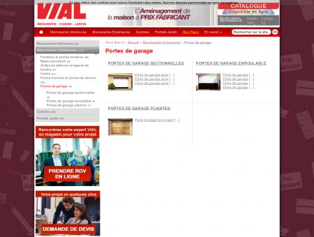 Portes de garage - Vial - Menuiserie, Cuisine,...