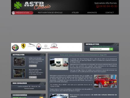 Garage ASTB, restauration de véhicules anciens...