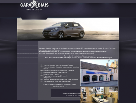 Garage Biais, Garage Peugeot Beaune, Garage...